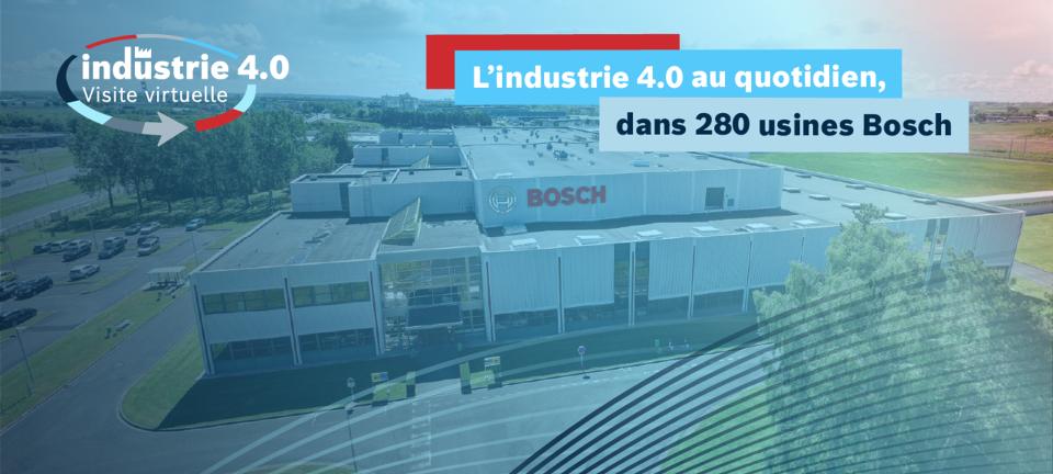 Visite Virtuelle Industrie 4.0 Bosch Rexroth France