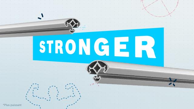 Profilés aluminium Bosch Rexroth - Stronger