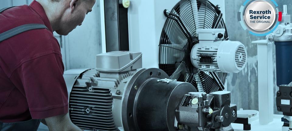 Service pour vos systèmes hydrauliques et électrohydrauliques