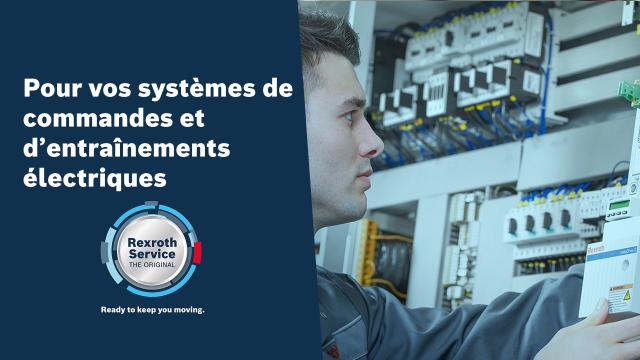 Pour vos systèmes de commandes et d'entraînements électriques