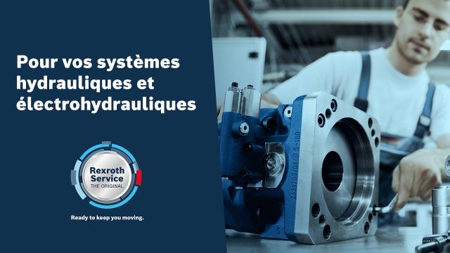 Pour vos systèmes hydrauliques et électrohydrauliques