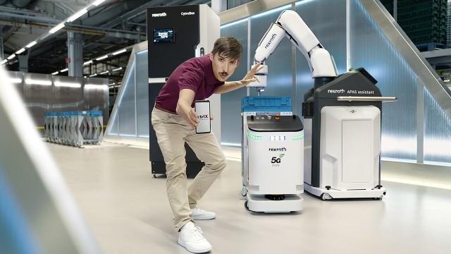 Solutions Industrie 4.0 Bosch Rexroth