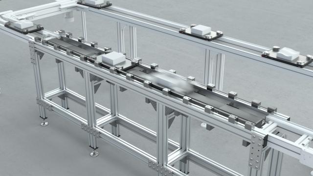 Il nuovo sistema TS 2 Booster da integrare nei sistemi di trasferimento Bosch Rexroth