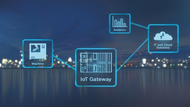 Abstract image IoT Gateway