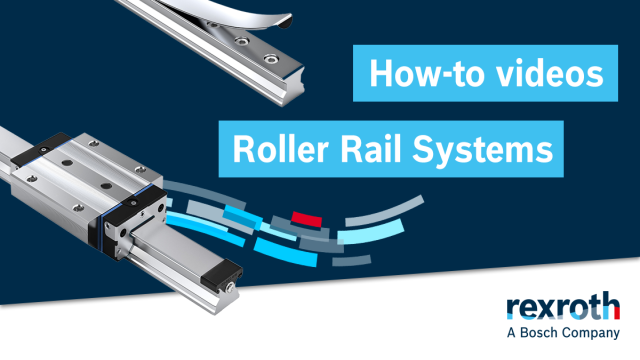 How-To videos about roller rail systems.