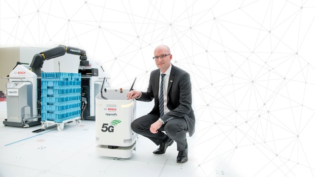 Andreas Mueller Chairman of 5G-ACIA with 5G background