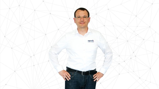 Gunther May Director of Technology Bosch Rexroth with 5G background