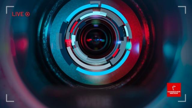 Live stream camera lens