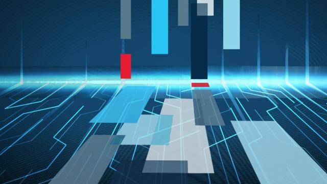 Futuristic floor