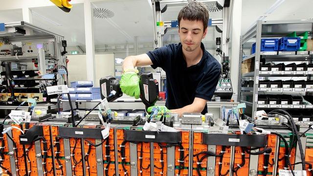 Bevestigingsverbindingen voor complexe batterij-assemblage in Bosch-fabriek