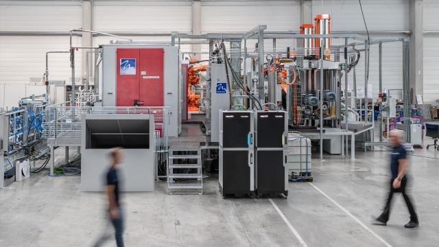 CytroBox-aggregaat in de BMW-fabriek