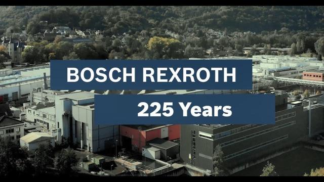 Happy 225. birthday, Bosch Rexroth!