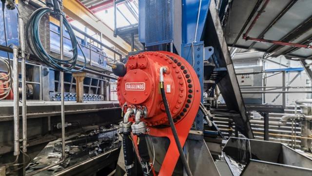 Recyclage : Hägglunds aide Genan à redonner vie aux pneus