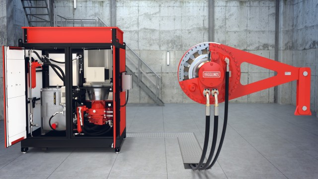 A complete drive system for reliability.