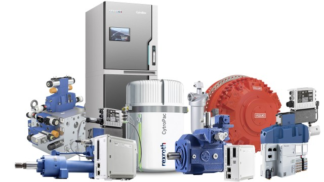 Industrial Hydraulics Pumps, Motors, Cylinders, Valves, Power Units - Bosch Rexroth