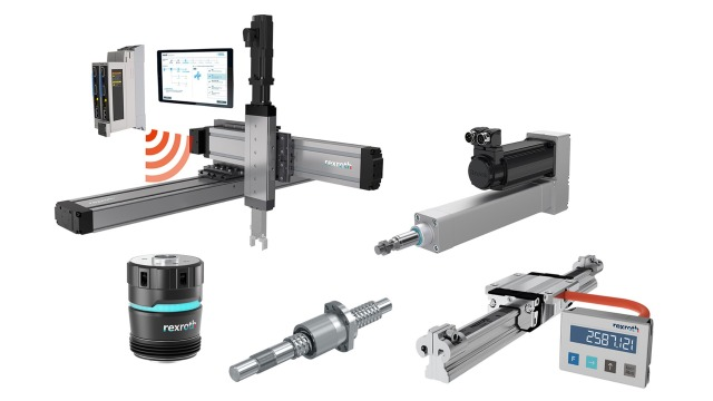Linear Motion Rails, Bushings, Screw Assemblies and Actuators - Bosch Rexroth
