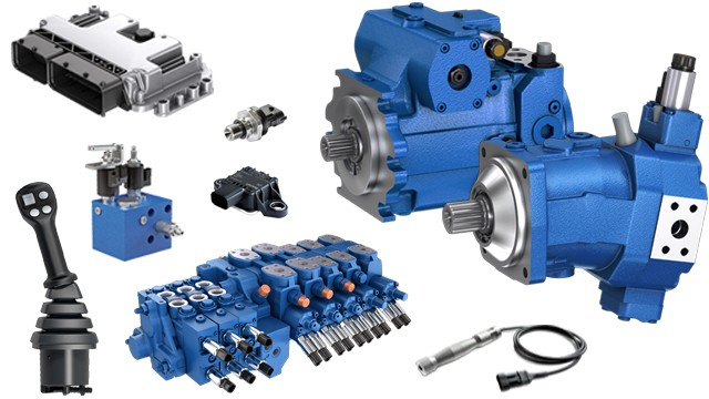 Mobile Hydraulics Pumps, Motors and Gears - Bosch Rexroth
