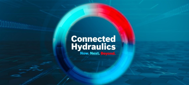 Bosch Rexroth の Connected Hydraulics
