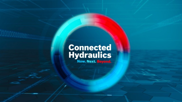 Connected Hydraulics by Bosch Rexroth