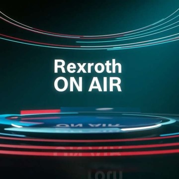 Rexroth on air logo