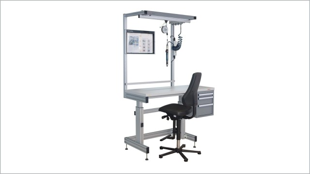 Heigh-adjustable workstations