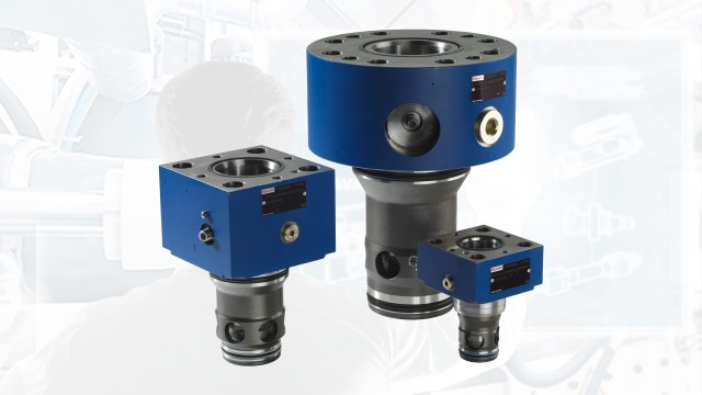 Configure your 2-way cartridge valve with directional or pressure function