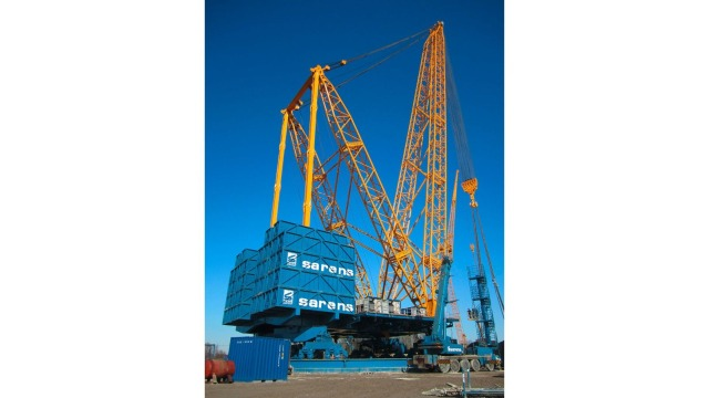 Mobile crane SGC 120