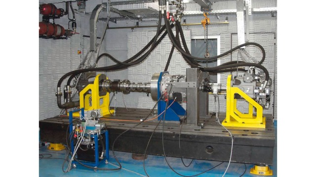 Torsional load test bench RWTH Aachen