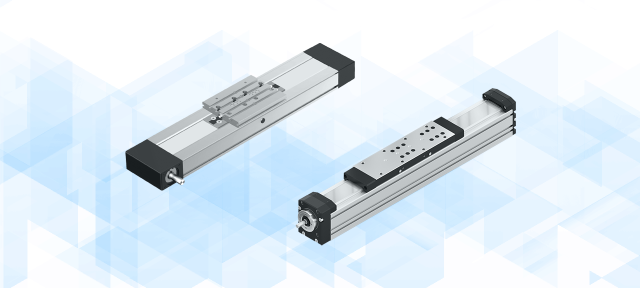 Ready-to-mount Linear Motion Systems with a variety of different drive variants.