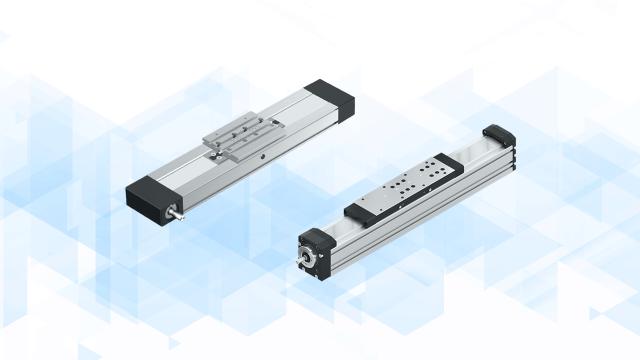 Einbaufertige Linearsysteme mit einer Vielzahl von unterschiedlichen Antriebsvarianten.