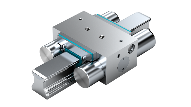 Clamping and braking units for ball rail and roller rail systems