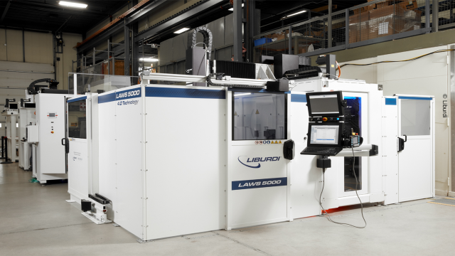 Success story, Bosch Rexroth provided a ready-to-install solution that reduced Liburdi's assembly time from 14 working days to three hours.