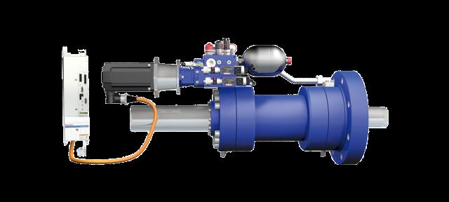 Self-contained servo-hydraulic axis SHA