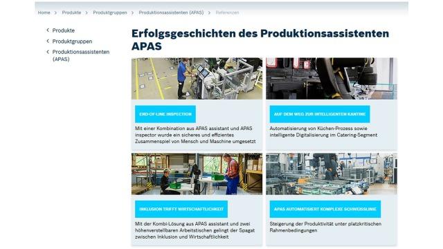 Success Stories about Production Assistants (APAS)