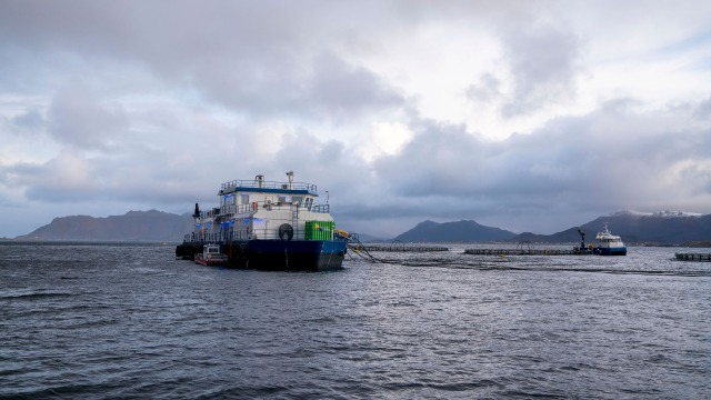 Efficient power management for Fish Farms