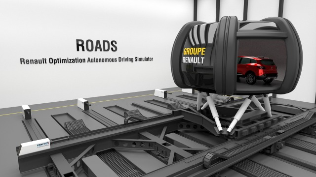 Motion Simulation for Renault