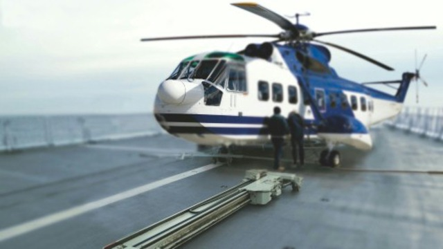 Helicopter handling systems