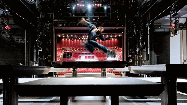 Drive and control solutions for Stage Technology
