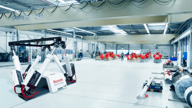 Drive and control solutions for Motion Simulation Technology