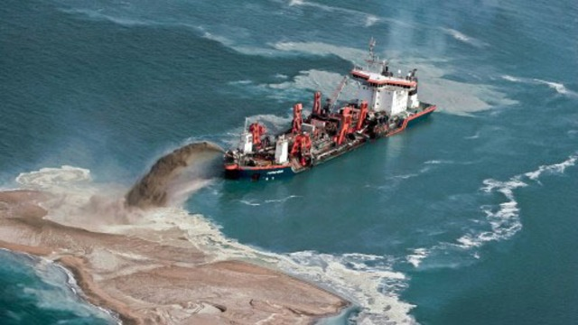 Drive and control solution for Dredging situations