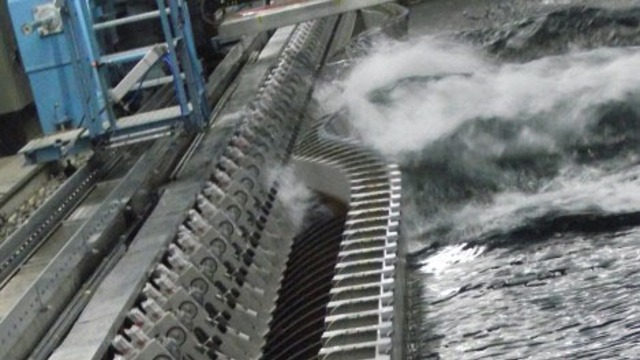 Water wave generator by Hydrodynamic Research